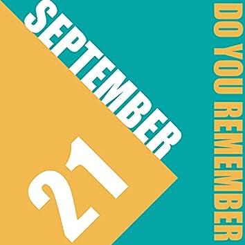 21st of September