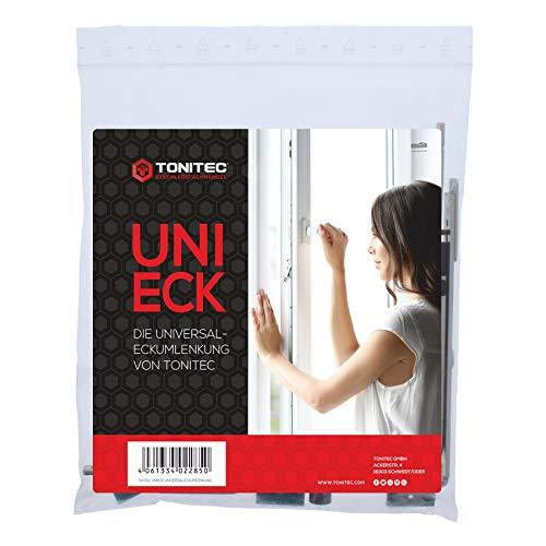 ToniTec UNI-ECK Universal Fenster Eckumlenkung Reparatur-Set für Sigenia Roto Winkhaus Aubi Weidtmann GU Fuhr