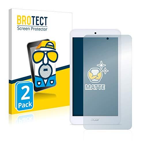 BROTECT 2X Entspiegelungs-Schutzfolie kompatibel mit Acer Iconia One 7 B1-780 Bildschirmschutz-Folie Matt, Anti-Reflex, Anti-Fingerprint