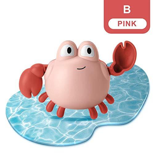 Feel-ling Sommer Kinderbadespielzeug Safe Langlebiges, gewundenes kleines Krabbenspielzeug, Kinderbaden, beruhigende Trägheit, Uhrwerkspielzeug
