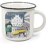 Legami Cup-Puccino Milano Duomo Tazza, Porcellana Bone China, Multicolore