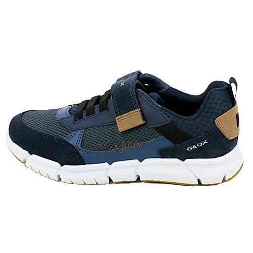 Geox J FLEXYPER Boy B - Zapatillas deportivas bajas para niño Azul Size: 33 EU