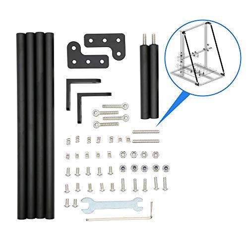 Walory Para Impresora 3D Cr 10, Actualice las piezas de la impresora 3D que admiten el kit de barra de tracción compatible con CR-10 / CR-10S / CR-10 S4 / CR-10 S5 Alfawise U10 / U20 TEVO Tornado