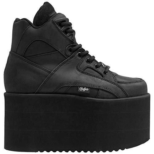 Buffalo Damen 1300-10 2.0 Leather Negro Stiefel 41 EU