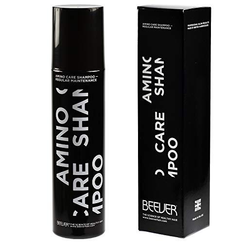 BEEVER Amino Care Hair Shampoo – Rich Repair Restoring Shampoo - Safe Keratin Treatmen Free from Parabens and SLS - Restores Damaged Hair & Reduce Split Ends