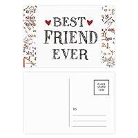 親友の心の引用まで 公式ポストカードセットサンクスカード郵送側20個