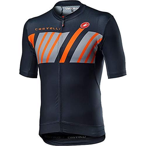 CASTELLI HORS CATEGORIE Jersey Camiseta, Savile Blue, M para Hombre