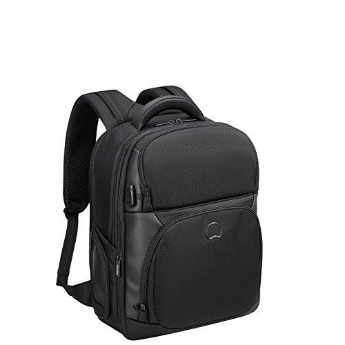DELSEY PARIS Quarterback Premium Sac à dos loisir, 50 cm, 39 L, Noir