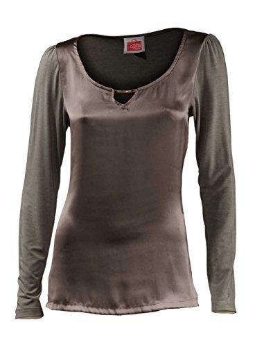 Travel Couture by Heine Blusenshirt taupe Größe 42