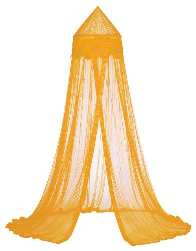 Taftan Ciel de Lit Fleurs orange - Orange