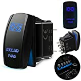 Cooling Fans Rocker Switch 5Pin Laser On/Off...
