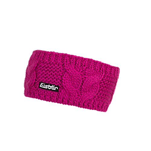 Eisbär Esta Stirnband, deep pink, One Size