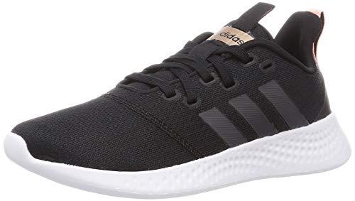 adidas Damen Puremotion Sneaker, Negbás/Grisei/Nadecl, 39 1/3 EU