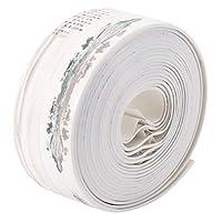 アンチモールドテープ、キッチントイレシンク用のPVC防水モールドプルーフ透明ギャップシーリングテープ(B)