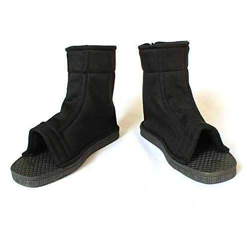 Unisex Black Shippuden Ninja Shoes [US 5 - US 11] [ Adult/Child ] (Men US 11)