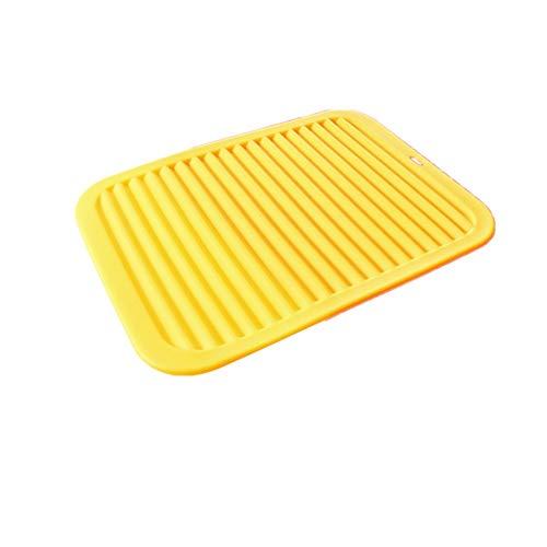 Mantel individual lavable Mantel de silicona 3 Pack  Resistente al calor y duradera pastillas frecuentes  De usos múltiples, uso como Resto de la Cuchara, tarro, Abridor de silicona Trivets Para decor