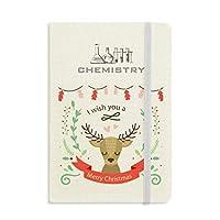 クリスマス鹿祭りのパターン 化学手帳クラシックジャーナル日記A 5