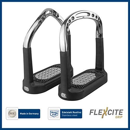 Sprenger Flexcite Grip Steigbügel - Edelstahl rostfrei, 120 mm