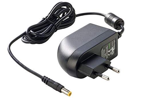 PremiumCord Universal Netzteil 230V/ 24V/ 1A DC, Netzadapter AC/DC, Stromadapter und Stromkabel für Router und weitere 24V-Geräte, Ausgangsstecker 5, 5mm/ 2, 1mm
