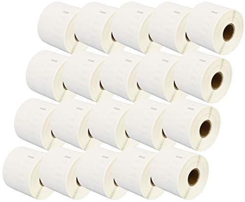 Compatible (Etichette) 11351 Address Labels Rolls (1500 Labels per Roll) for Dymo LabelWriter & Seiko Smart Label Printers (11mm x 54mm) - TWENTY ROLLS