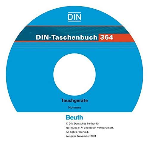 Tauchgeräte, 1 CD-ROM Normen. Für Windows 95/98 SE/ME/NT 4.0/2000. Hrsg. v. Dtsch. Inst. f. Normung (DIN)