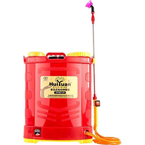 CWYPC Pulverizador Electrico, Pulverizador De Mochila Pulverizador De Desinfección Eléctrico Rociador Sulfatadora Batería Litio, para Limpieza y Desinfección, Herbicidas y Pesticidas 20L