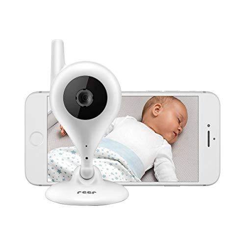 reer video-babyphone en IP-camera babycam, eenvoudige installatie, bediening via gratis app