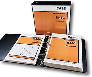 Case 1845C Uni Loader Skid Steer Service Manual Parts Catalog Repair Shop Ovhl