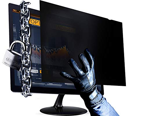 19 Inch - 5:4 Aspect Ratio Computer Privacy Screen Filter for Square Computer Monitor - Anti-Glare - Anti-Scratch Protector Film for Data Confidentiality - Please Measure...