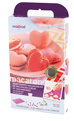 mastrad Makronenformen, Silikon, pink, 1 x 30 x 20 cm