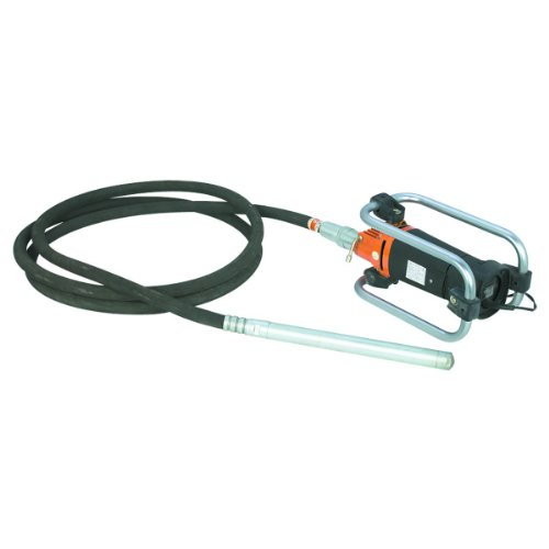 Concrete Vibrator 16-inch Vibrating Head 4,000 RPM