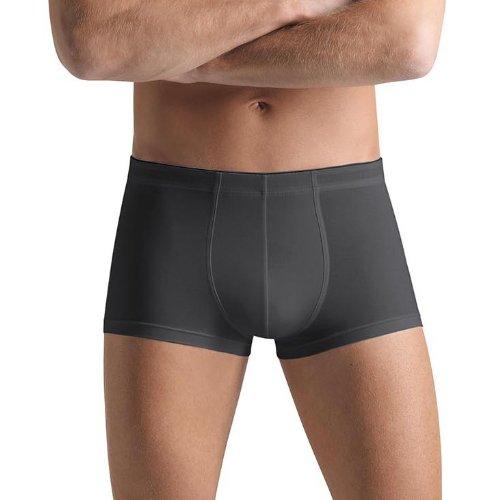 Hanro Herren Cotton Superior Panty, Grau (coal grey 0162), 48/50 (Herstellergröße: M)