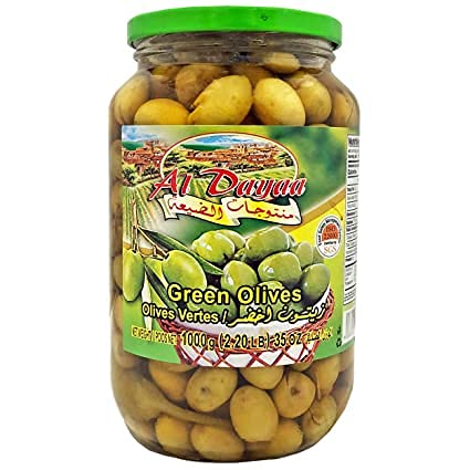 Al Dayaa Green Olives Ranking TOP10 with Thyme OZ Jar 35 Directly managed store 1 each 100g