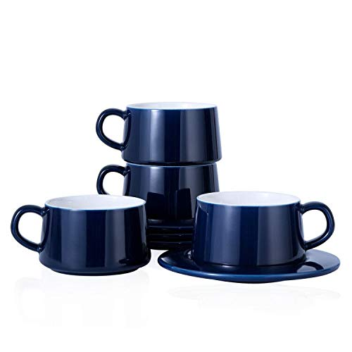Kanwone Porcelain Cappuccino Cups