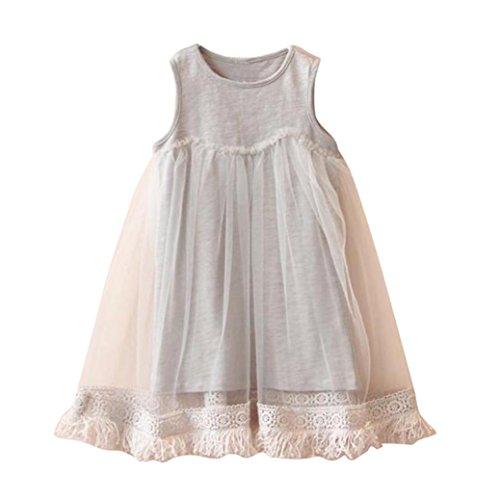 Fabal summer Summer Girls Baby Tassel Dress Children Mesh Dresses For Girl Children Clothing
