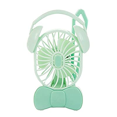 SaveStore Hot Lovely Portable Hand Fan Battery Operated USB Power Handheld Mini Fan Cooler with Strap