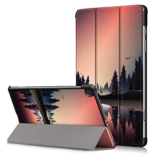 Fway Hulle Case fur Samsung Galaxy Tab S6 lite Tablet 104 Zoll SM P610 SM P615 mit Auto SchlafWach Standerfunktion
