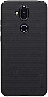 Nokia 8.1 (X7) Nillkin Frosted Super Shield Hard Case Back Protective Cover For Nokia 8.1 Black