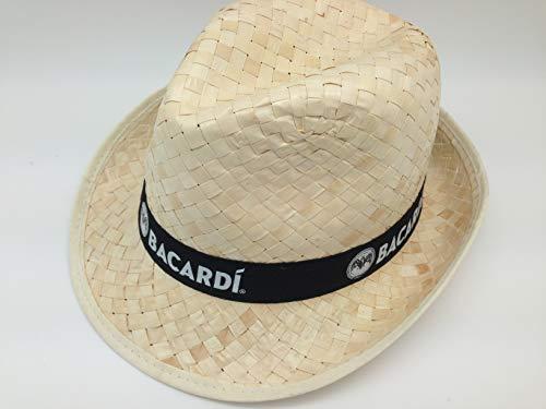 Bacardi Strohhut Hut Karneval Fasching Cap Mütze