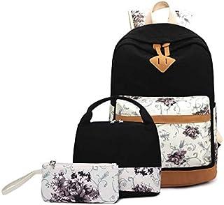 مجموعة حقائب الظهر للفتيات - حقائب مدرسية 3 في 1