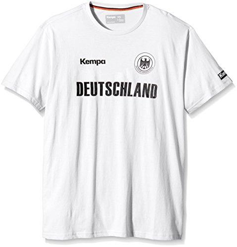 Kempa T-Shirt Deutschland, Weiß, XXS