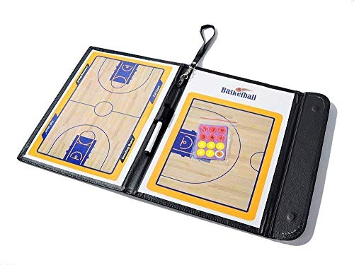 ASTARC Basketball Tactic Board Color Plegable Coach Board Cuero ...