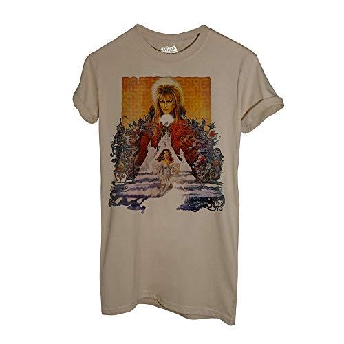 MUSH T-Shirt Labyrinth David Bowie Locandina - Music by Dress Your Style - Donna-M-Sand
