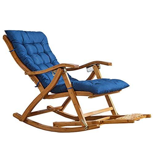 WFFF Sillas reclinables para Exteriores para Adultos, Silla de jardín para Patio, reclinable en la Playa, Plegable, reclinable portátil para Acampar, Pescar, en la Playa, sopo