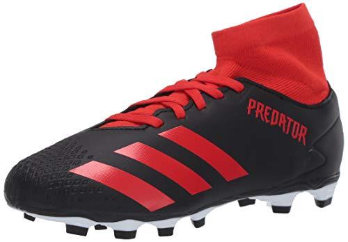 adidas Predator 20.4 - Zapatillas de fútbol para hombre, negro, 12