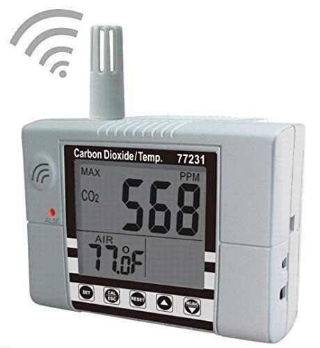 Hyy-yy. Indoor Air Quality Meter, CO2-Gas-Detektor mit Bereich 0~9999ppm AZ772321