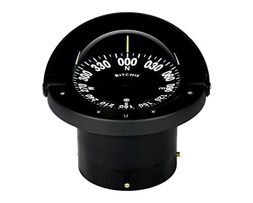 """Compass, Flush Mount, 4.5"""" Dial, Black"""