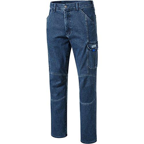 Pionier  workwear Herren Casual Jeans mit Zollstocktasche in blau (Art.-Nr. 2990) Blue,Größe 52