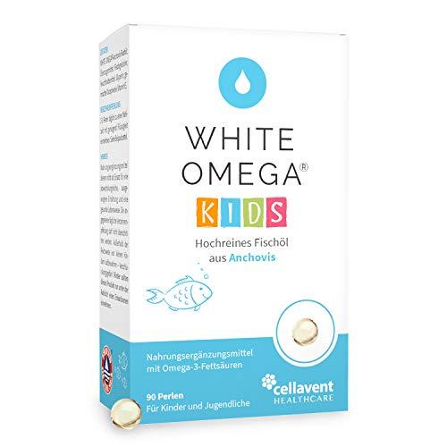 Omega 3 für Kinder – 90 Stk. zuckerfrei – Der Vergleichssieger 2021 – geschmacksneutrales Fischöl (518mg) – ohne Zusätze