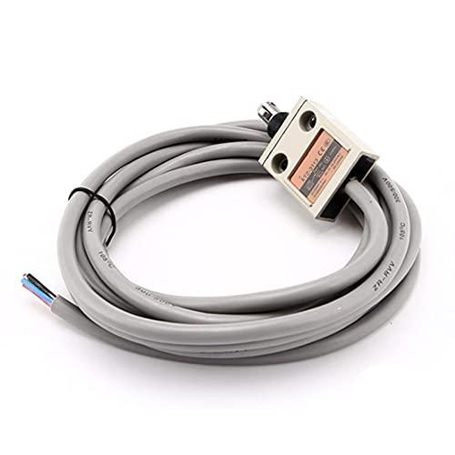 LLMXFC TZ-3113 XTZ-3113 IP67 4 Interruptor de límite de la Palanca del Rodillo de Alambre SPDT NO + NC Alambre de Cobre 3 Metros